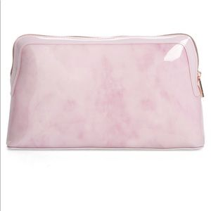 NWT Ted Baker rose quartz wash bag
